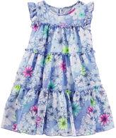 Osh Kosh 2-Piece Tiered Floral Tulle Dress