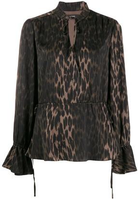 Steffen Schraut Luxury Animal blouse
