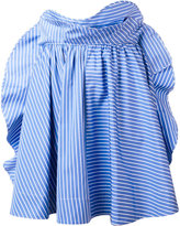 MSGM striped skirt - women - Cotton - 38