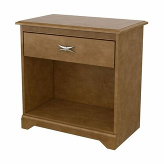 """Akin Avalon 1 - Drawer Solid Wood Nightstand Size: 28"""" H x 28"""" W x 16"""" D"""