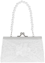 Monsoon Triple Rose Lace Mini Bag