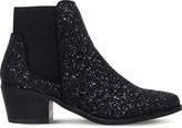 Miss KG Spider metallic glitter Chelsea boots