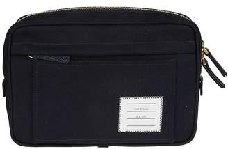 Thom Browne Interlock Backing Shoulder Bag