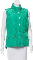 Lilly Pulitzer Mock Neck Quilted Vest w/ Tags