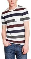 Harris Wilson Men's Striped Short sleeve T-Shirt - Blue -