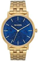 Nixon A1057-2732 Men's Watch Porter Gold 40mm Stainless Steel