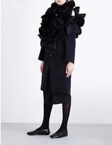 Junya Watanabe 3-d fold neoprene coat