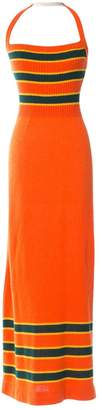 John Galliano Orange Cotton Dress for Women Vintage