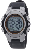 Timex Men's Marathon Multi-Function Grey Digital Black Rubber