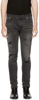Balmain Black Vintage Six-Pocket Jeans