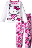 "Hello Kitty Little Girls' Toddler ""Swimsuit Fun"" 2-Piece Pajamas - , 3t"