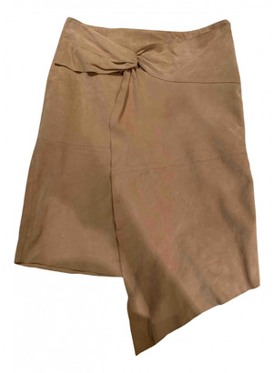 BA&SH Beige Suede Skirts