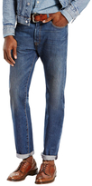 Levi's 501 Slim Fit Faded Jeans