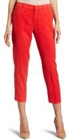 Women's Cropped Slim Trouser