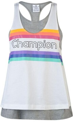 Champion Rainbow Stripe Tank Top