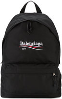 Balenciaga Explorer embroidered backpack - men - Nylon - One Size