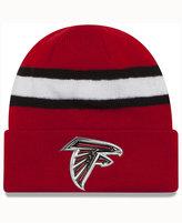 New Era Atlanta Falcons On-Field Color Rush Pom Knit
