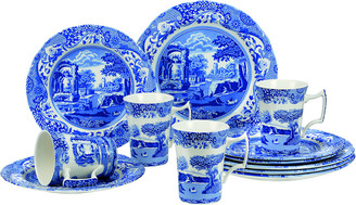 Spode Blue Italian 12Pc Dinnerware Set