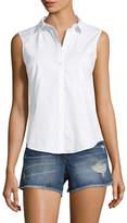Armani Exchange Women's Solid Collared Shirt