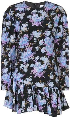 Les Rêveries floral mini dress