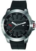 Puma PU-Drill Men's Watch, Silver Black Red