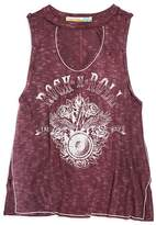 Vintage Havana Girls' Rock & Roll Tank - Big Kid