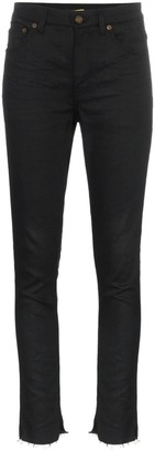 Saint Laurent High-Waisted Skinny Jeans