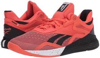 Reebok Nano X (Vivid Orange/Black/White) Men's Shoes