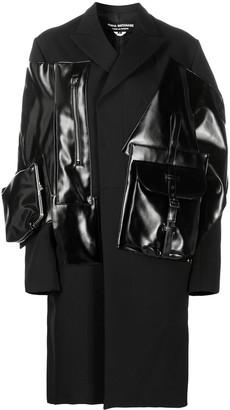 Junya Watanabe Panelled Pouch Midi Coat