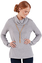 Disney Kingdom Couture Cowl Neck Sweater for Women