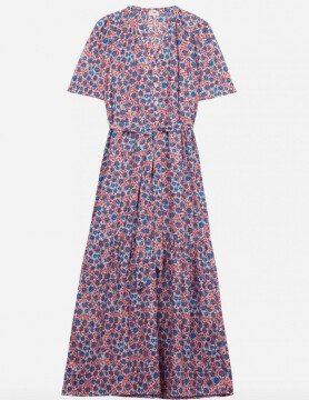 Thumbnail for your product : Margaux Tiered Floral Midi Dress - 10