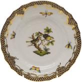 Herend Rothschild Bird Brown Motif 10 Bread & Butter Plate