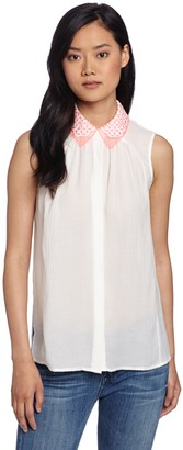 Mcginn Women's Trixie Cutout Blouse