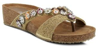 Azura Mattosa Wedge Sandal