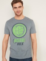 Old Navy Marvel Incredible Hulk Graphic Tee for Men