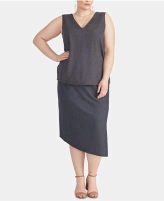 Rachel Roy Plus Size Emmy Asymmetrical Skirt