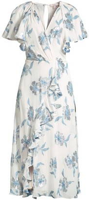 Rebecca Taylor Lurex Fleur Dress