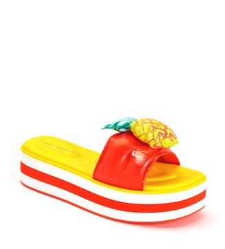 Kate Spade Limoncello Platform Slide Sandal