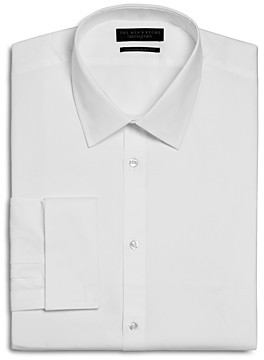The Men's Store at Bloomingdale's Textured Solid French Cuff Regular Fit Dress Shirt - 100% Exclusive