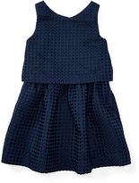 Ralph Lauren 2-6X Waffle-Knit Sleeveless Dress