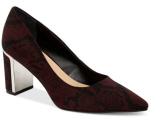 Alfani Women's Step N Flex Jensonn Block-Heel Pumps, Created for Macy's Women's Shoes