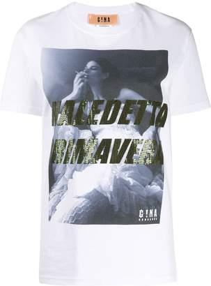 Gina photographic-printed T-shirt