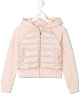 Moncler paneled padded jacket - kids - Cotton/Feather Down/Polyamide - 6 yrs