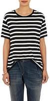 R 13 Women's Knit T-Shirt-Black, White