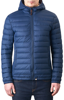 Pretty Green Pembrook Slim Fit Quilted Jacket, Navy