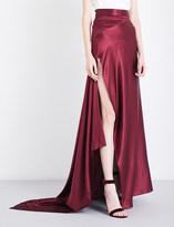 Michael Lo Sordo Empress silk-satin maxi skirt