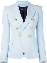 Balmain fitted blazer - women - Cotton/Polyurethane/Acetate/Viscose - 40