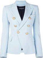 Balmain fitted blazer - women - Cotton/Polyurethane/Acetate/Viscose - 44