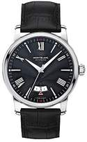 Montblanc 115122 4810 Automatic Date Alligator Leather Strap Watch, Black