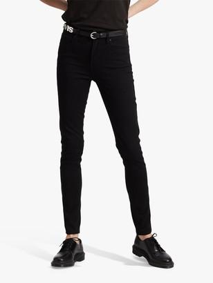 Levi's 721 High Rise Skinny Jeans, Black